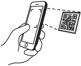 Mobile capturing QR code